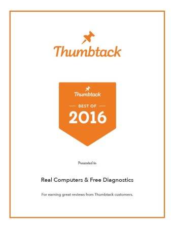 Real Computers and Free Diagnostics Sacramento Best of 2016 Thumbtack